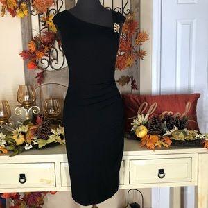 Cach'e | Women's black bodycon dress